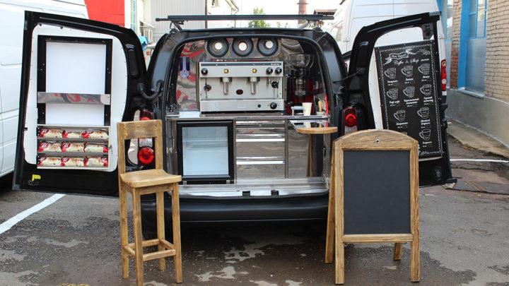 машина с кофейным аппаратом