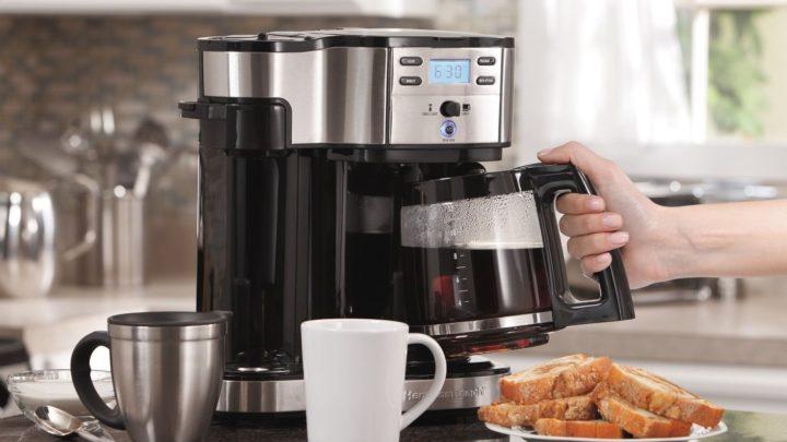 приготовление эспрессо в рожковой кофеварке