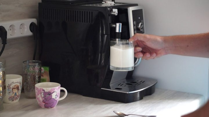 кофемашина не взбивает молоко